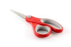 isolato rosso di forbici Immagine Stock