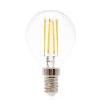 Isolato sulla lampada bianca del LED Fotografia Stock Libera da Diritti
