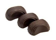 Isolaton delle caramelle di cioccolato Fotografia Stock Libera da Diritti
