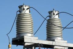 isolatorer två Arkivfoto