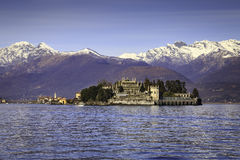 Isole Borromee. The Borromeo Islands are the ideal destination for a spring weekend out of town, for the beauty of the gardens and palaces of the two largest royalty free stock image