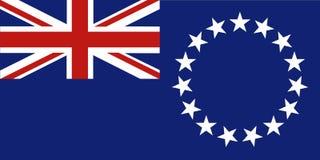 Isole Cook Fotografia Stock