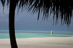 Isole dei Maldives Fotografie Stock
