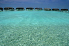 Isole dei Maldives immagine stock