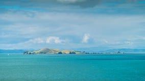 Isole del golfo di Hauraki Fotografia Stock Libera da Diritti