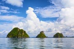 Isole del mare di Andaman immagine stock