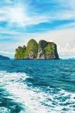 Isole del mare di Andaman Immagini Stock Libere da Diritti