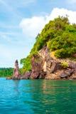 Isole del mare di Andaman Immagini Stock