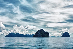 Isole del mare di Andaman Fotografie Stock Libere da Diritti