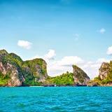 Isole del mare di Andaman Fotografie Stock