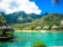 Isole del South Pacific immagini stock libere da diritti