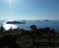 Isole dell'oceano del punto di vista immagini stock