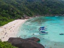 Isole della Tailandia Phuket Similan Fotografie Stock
