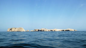 Isole di Ballestas in Paracas Immagine Stock