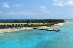 Isole di Caicos e di Turco Immagine Stock