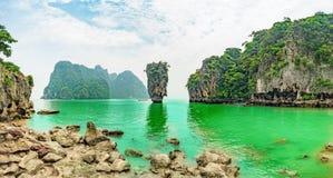 Isole di Koh Tapu Immagine Stock