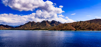 Isole di Komodo Fotografia Stock