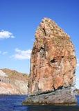 Isole di Lipari - roccia Immagini Stock Libere da Diritti