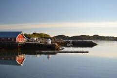 Isole di Lofoten, Norvegia Fotografie Stock Libere da Diritti