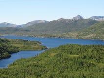 Isole di Lofoten, Norvegia Il mare di Norvegia Fotografie Stock