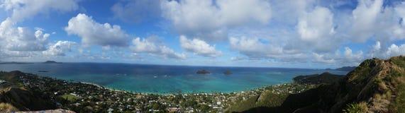 Isole di Mokoli'i fotografie stock libere da diritti