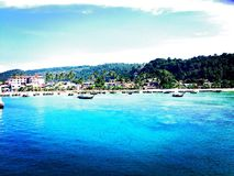 Isole di Phi Phi, Tailandia Immagine Stock
