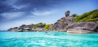 Isole di Similan Immagini Stock Libere da Diritti