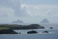 Isole di Skellig sceniche immagine stock libera da diritti