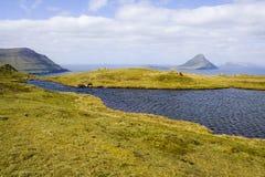 Isole faroe Fotografie Stock