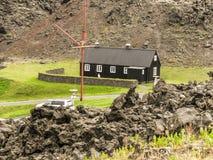Isole Islanda di Vestmann Fotografia Stock