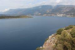 Isole Lanscape in mar Mediterraneo fotografie stock libere da diritti