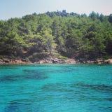 Isole nel mar Egeo Fotografia Stock Libera da Diritti