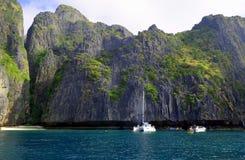 Isole nel mare delle Andamane 1 fotografia stock libera da diritti
