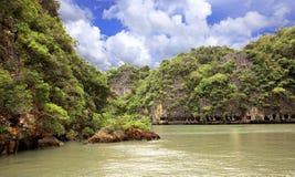 Isole nel mare di Andaman immagini stock libere da diritti