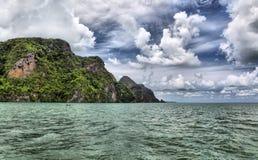 Isole nel mare di Andaman fotografia stock libera da diritti