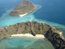 Isole nello stretto di Torres Fotografia Stock