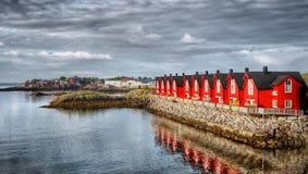Isole Norvegia di Lofoten Fotografie Stock Libere da Diritti