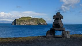 Isole occidentali di Vestmannaeyjar Fotografia Stock