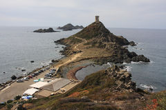 Isole Sanguinary, Iles Sanguinaires, Corsica Fotografia Stock Libera da Diritti