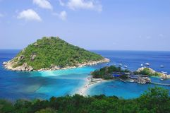 Isole soleggiate Fotografia Stock Libera da Diritti