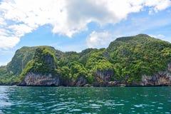 Isole tropicali collinose Immagine Stock Libera da Diritti