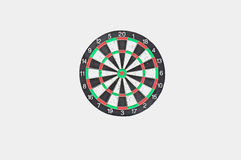 Isoleer dartboard vector illustratie