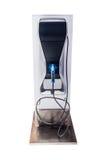 Isoleer op wit van intelligente het laden posten voor elektrische auto Stock Foto's