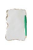 Isolement de poignée de vert de feuille Image libre de droits
