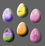 isolerad äggblomma Royaltyfri Foto