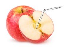 Isolerad äppelmust Royaltyfri Fotografi