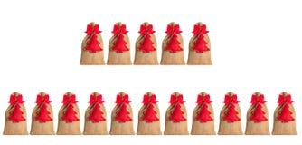 Isolerad Adventkalender Royaltyfri Fotografi