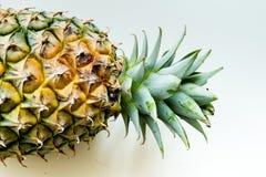 isolerad ananas Fotografering för Bildbyråer