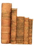 isolerad antik bok Royaltyfria Foton