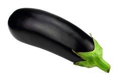 isolerad aubergine Royaltyfria Bilder